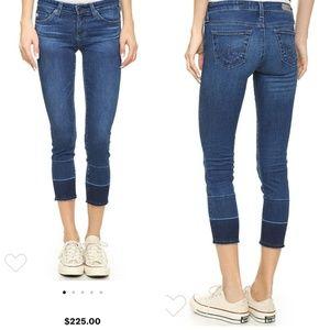 Cigarette stilt crop AG jeans
